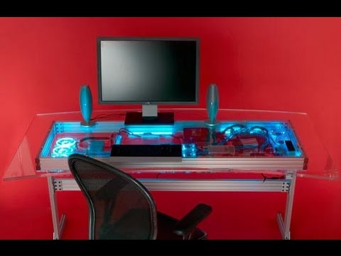 Ideas For Computer Desk creative computer desk ideas for your home - youtube
