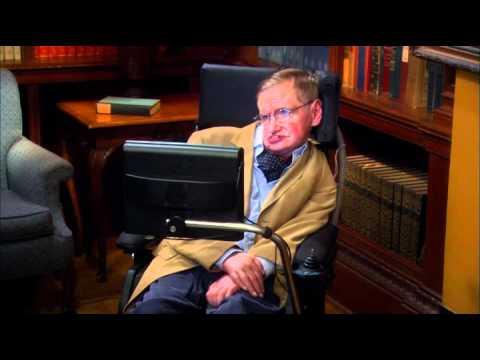 Sheldon meets Stephen Hawking The big bang theory