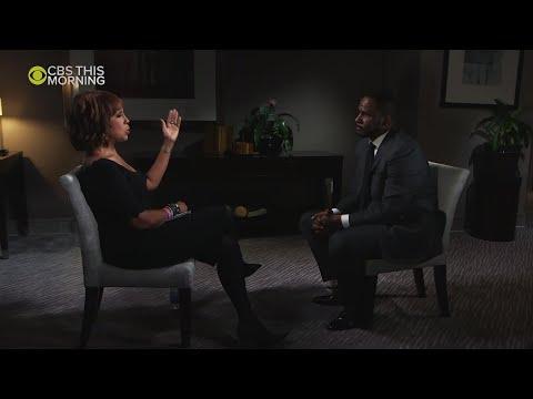Sherry Mackey - R. Kelly Gets Real Emotional Talking to Oprah's Bestie Gayle King