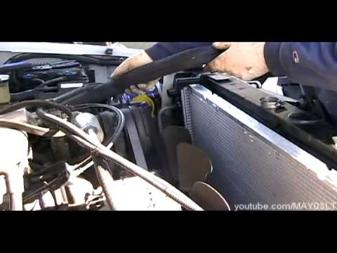 Lt1 Cooling Diagram Isuzu Nqr Alternator Wiring 96-98 Chevy C/k Pickup Radiator And Hose Install - Youtube