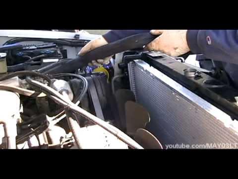96 98 Chevy C K Pickup Radiator And Radiator Hose Install