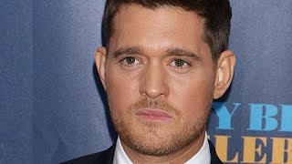 Michael Buble Reveals Son Noah Has Cancer: So Sad
