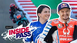 MotoGP 2020 Catalunya: Jack Miller Teaches Vanessa To Ride Flat-Track | Inside Pass #9