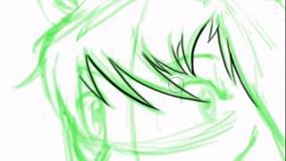 Wolf Children (Ookami Kodomo no Ame to Yuki) Speed Drawing