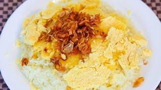 Cách làm món Xôi Xéo - Vietnamese Sticky Rice with Mung Bean