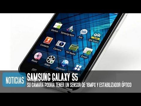 Samsung Galaxy S5, cámara de 16mpx y estabilizador óptico