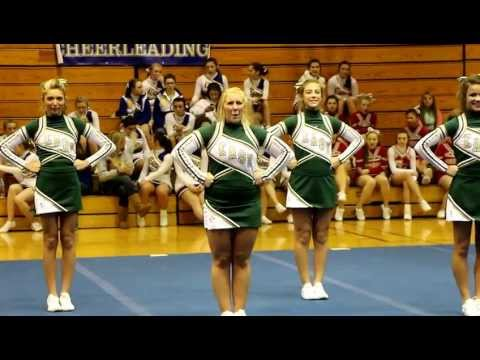 01/09/2013, Lapeer East Competitive Cheer - Round 2