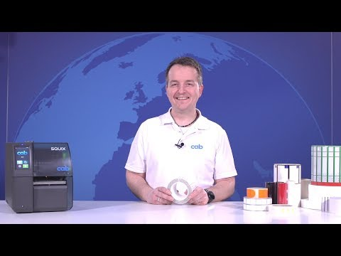 Labels and thermal transfer ribbons - what has to be considered?