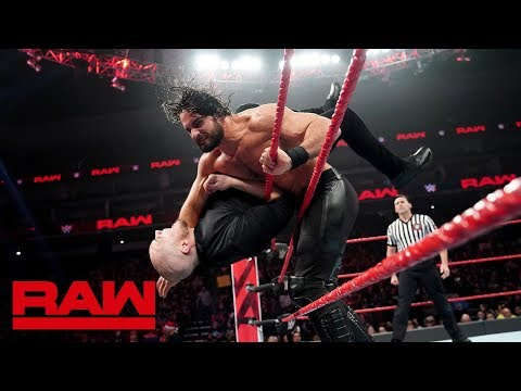 Seth Rollins vs. Baron Corbin: Raw, Dec. 24, 2018