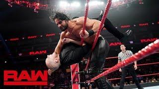 Seth Rollins vs. Baron Corbin: Raw, Dec. 24, 2018