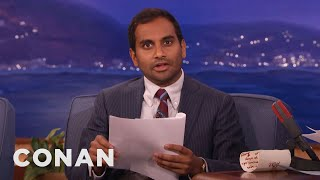 Aziz Ansari's Twitter Screenplay  - CONAN on TBS