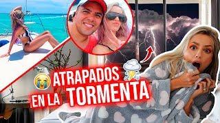 ATRAPADOS en una TORMENTA ELÉCTRICA en CANCÚN!!⛈⚡🌪😥