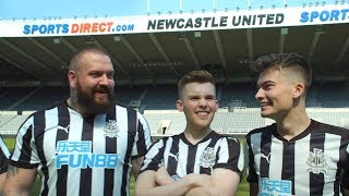 XO PLAY FOR NEWCASTLE