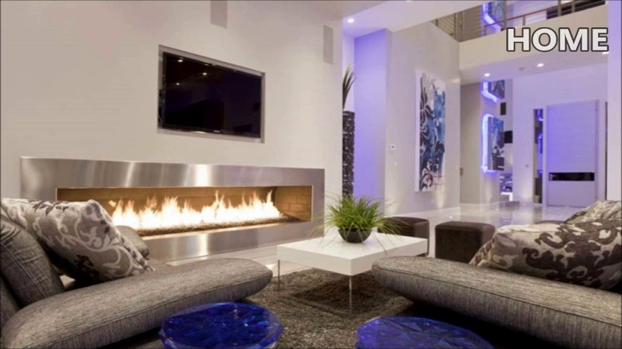 Home decor interior design Modern Fireplace for living room