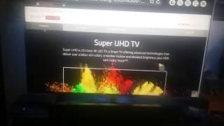 LG 3D Super UHD TV 4k 65 inch HDR super model 65UH8500 Magic Remote 240hz 2016