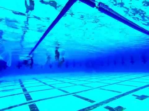Pacific Zone Waterpolo - Underwater view 2nd half