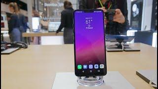 LG G7 ThinQ Smartphone - Quick Look & Benchmark IFA 2018 Berlin