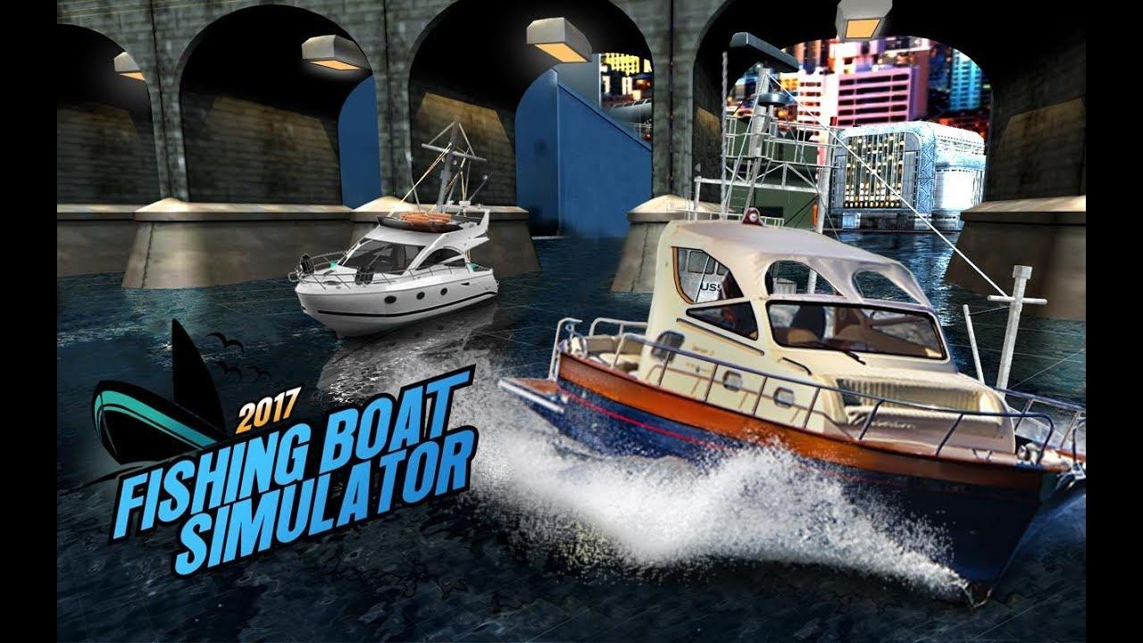 Fishing boat driving simulator ship games by bajake for Fishing boat games