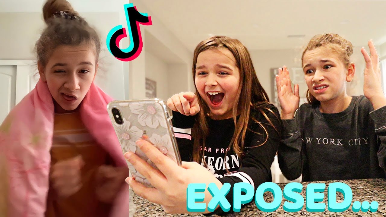 Download REACTING TO MY SISTER'S TikToks DRAFTS!! | Cilla and Maddy