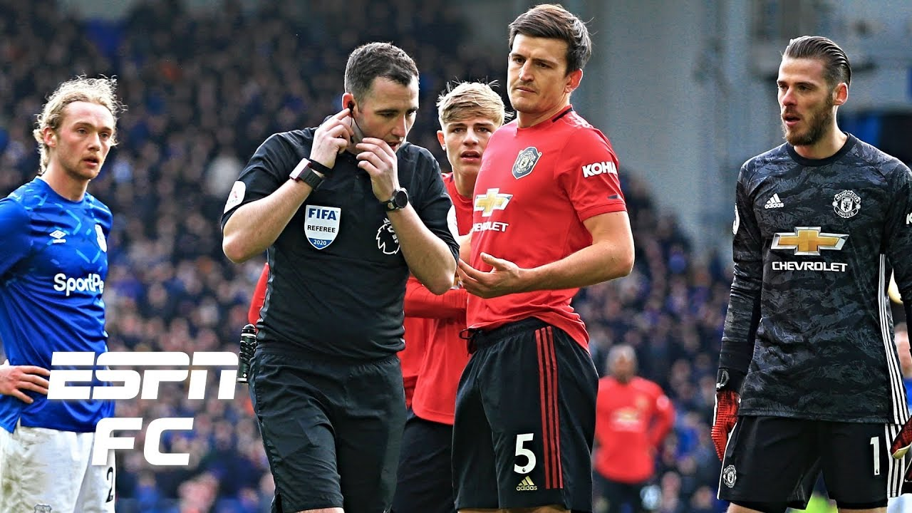 Everton Vs Manchester United Analysis Was Var Right To Disallow Toffees Late Goal Espn Fc Youtube