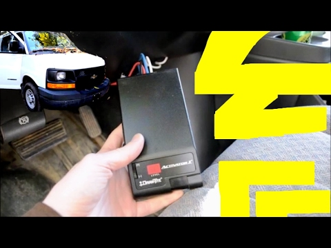 Trailer Brake Controller Install  GM Chevy GMC Express Van Savana  YouTube