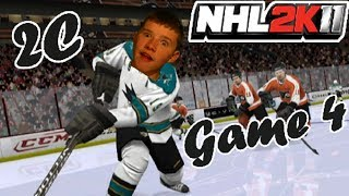 NHL 2K11 Stanley Cup Series: Game 4 - Philadelphia Flyers VS. San Jose Sharks - 2C