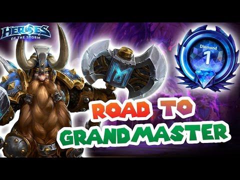 Sometimes u gotta be harsh // Heroes of the Storm // Road to Grandmaster S2 - Diamond 1