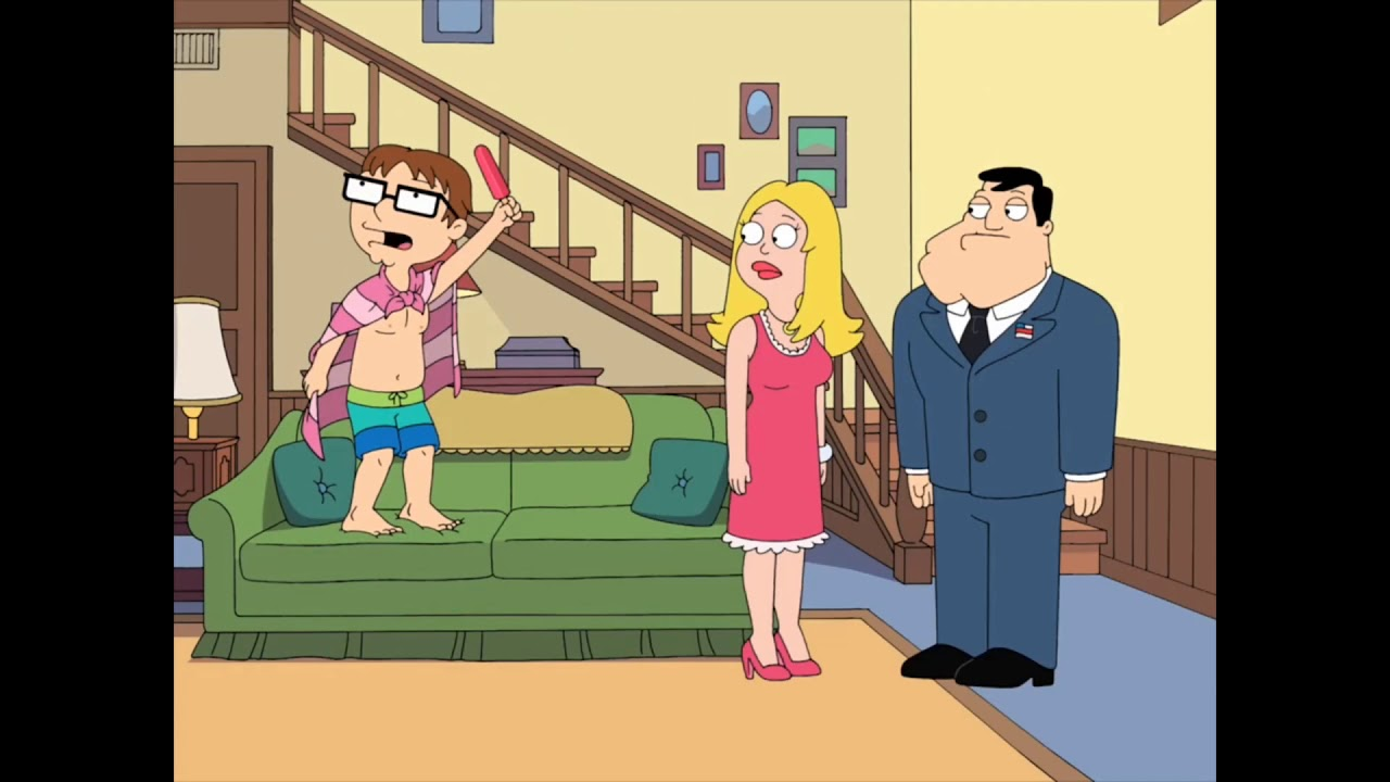 American Dad - Man in the Moonbounce PART 1
