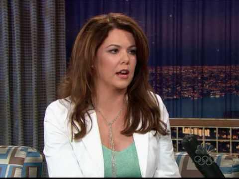 Lauren Graham on Conan O'Brien 7th May 2004
