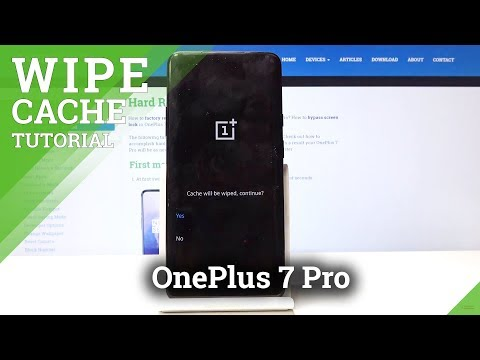 How to Wipe Cache Partition in OnePlus 7 Pro - Erase Cache