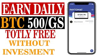 EARN DAILY BTC 500/GHS POWER FREE WITHOUT INVESMENT | Make Money Online
