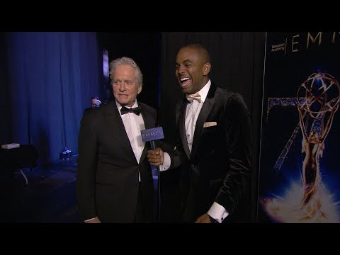 70th Emmy Awards: Backstage LIVE! with Michael Douglas