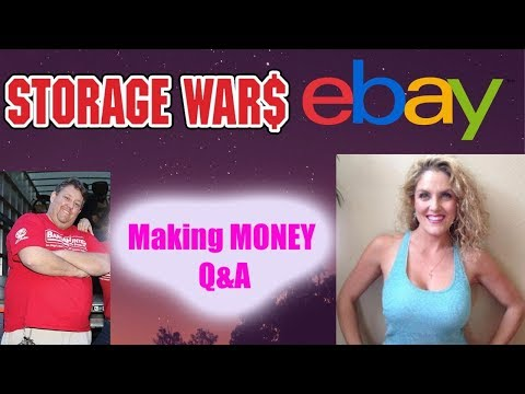 How To Make Money With Yard Sales Storage Auctions Thrift Stores Q&A Wars