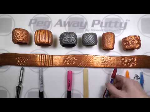 Creating Textures In Peg Away Putty™