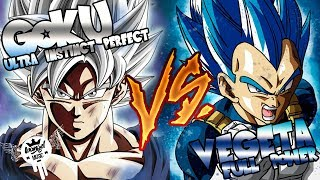 GOKU Ultra Instinto Vs VEGETA Full Power | Ivangel Music Ft ...