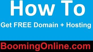 How To Get a FREE Domain + Hosting – Create Website in 1 min, 3 Hacks for 2017