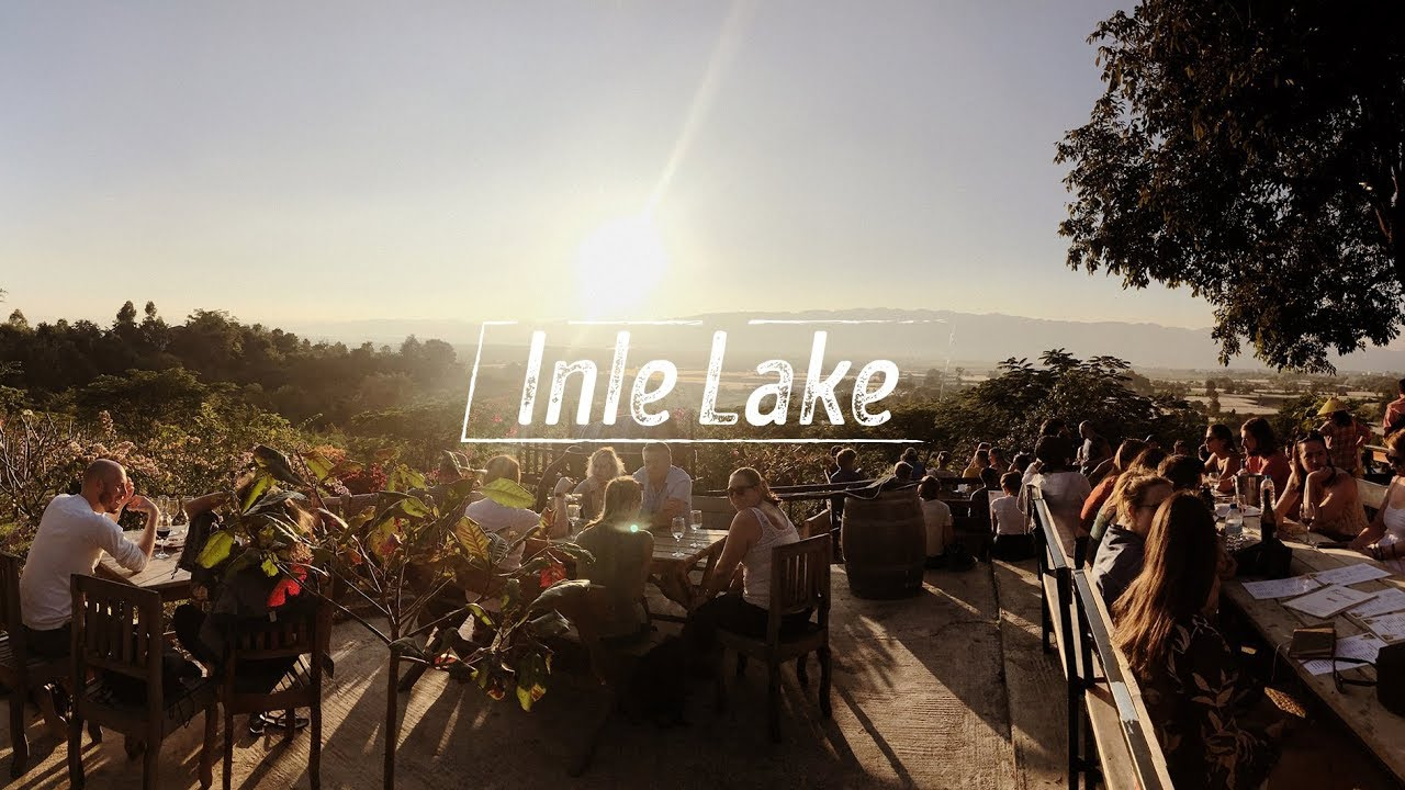 Inle Lake - Một ngày lênh đênh trên hồ, uống rượu vang trên đồi và gạ đua xe // Vlog