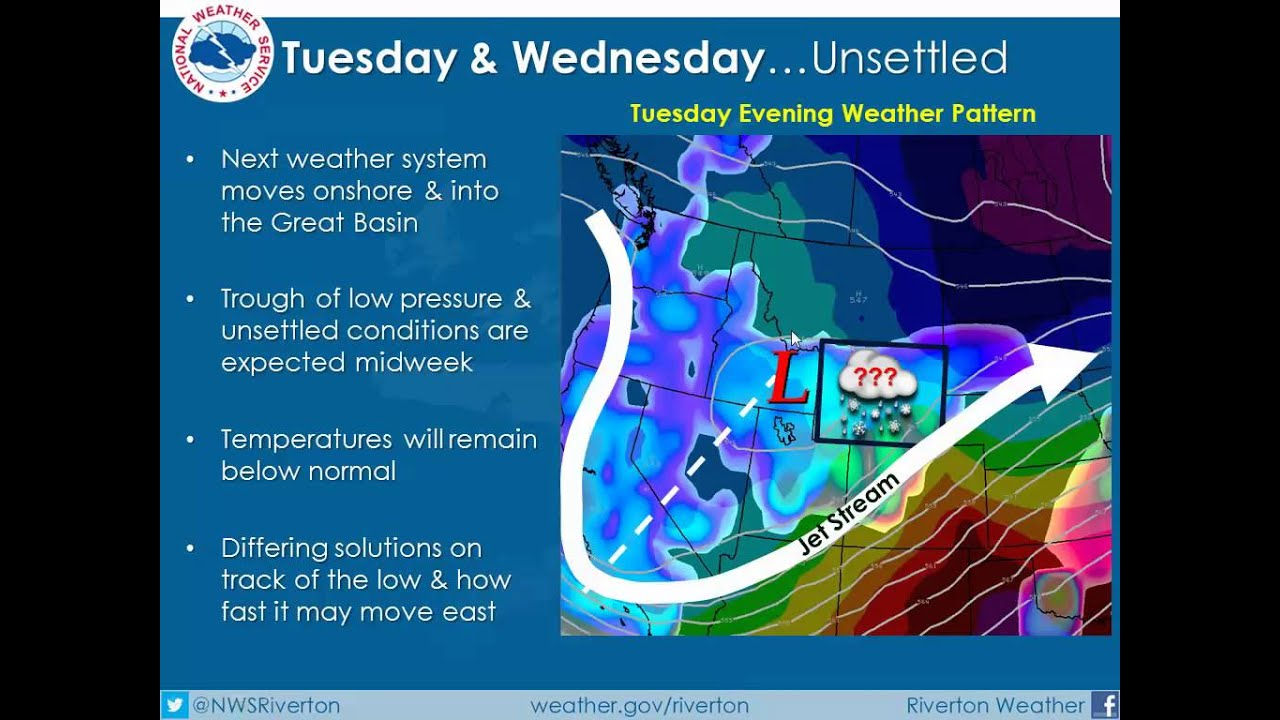 Weekly Weather Briefing from the National Weather Service in Riverton