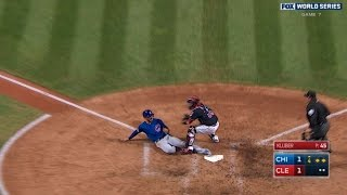 Russell plates Bryant with sac fly