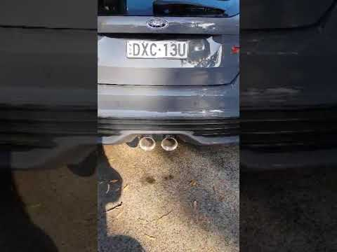 Ford Focus St Xforce Catback Exhaust Youtube
