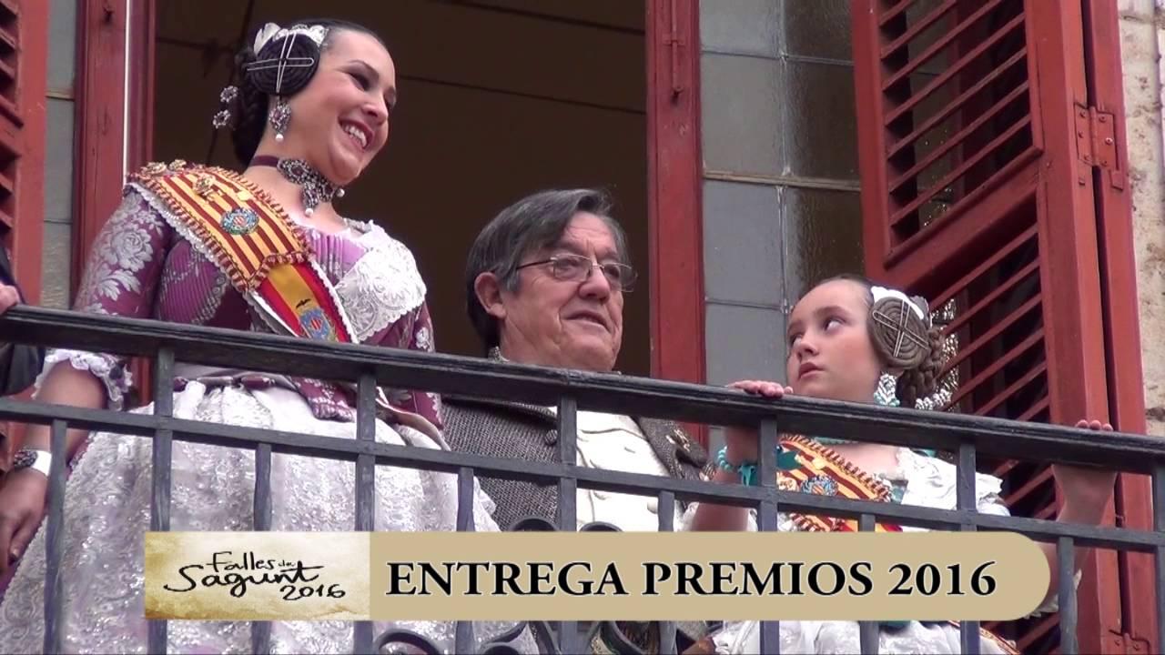 Entrega Premios Fallas de Sagunto 2016