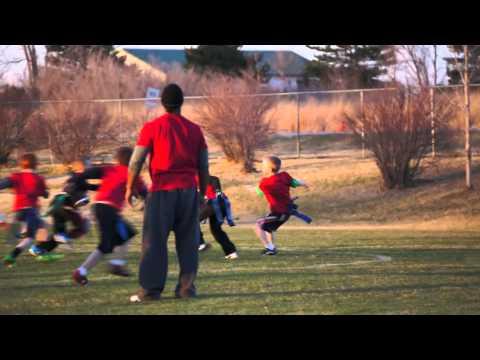 8 year old - Kellan Whole Team Juke Touchdown