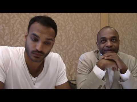 SDCC 2016:  The Magicians  Arjun Gupta, Rick Worthy