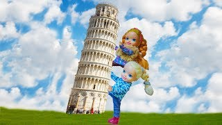 Gambar cover Elsa and Anna toddlers trip to Italy