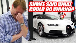 The Ford GT Broke So We Took The Bugatti Chiron AGAIN W/ Shmee150!!