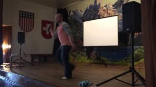 Go To Work Line Dance by Joey Warren @ Swiss Park