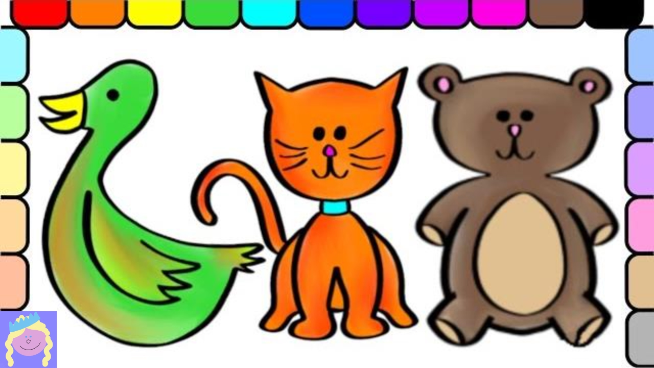 It is a picture of Sly Lname Bear Coloring Page