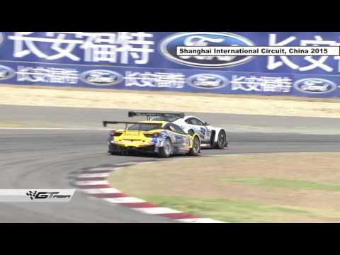GT Asia Series round 8 2015 action from Shanghai, China