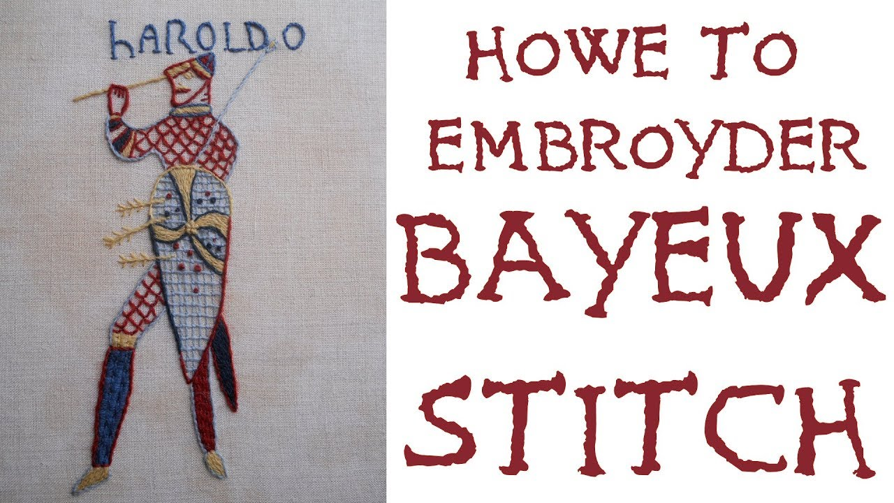 And all that bayeux stitch straight tutorial