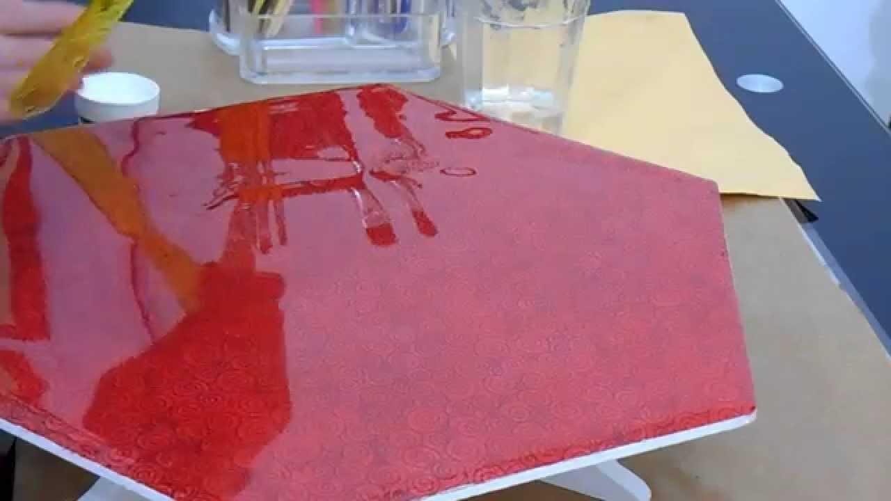 Artesanato Cobre Bolo Passo A Passo ~ Vidro Líquido Torno para Artesanato Má Patchwork YouTube
